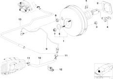 Original Parts for E39 520i M52 Touring / Brakes/ Brake