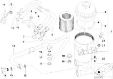 Original Parts for E39 M5 S62 Sedan / Engine/ Belt Drive