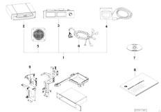 Original Parts for E46 320d M47 Touring / Audio Navigation