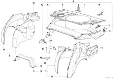 Original Parts for E34 525tds M51 Sedan / Bodywork/ Door