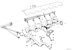 Original Parts for E30 320i M20 2 doors / Engine/ Engine