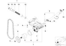 Original Parts for E39 528i M52 Sedan / Engine/ Cooling