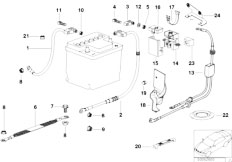 Original Parts for E36 316i M43 Sedan / Engine Electrical