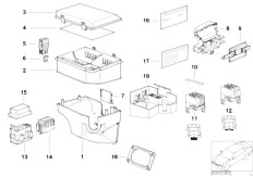 Original Parts for E31 840Ci M62 Coupe / Vehicle