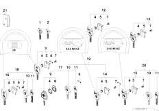 Original Parts for E39 520d M47 Touring / Bodywork/ Trunk