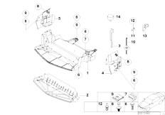 Original Parts for Z3 Z3 M3.2 S50 Roadster / Vehicle Trim