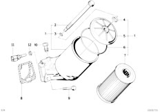 Original Parts for E34 M5 3.8 S38 Sedan / Engine