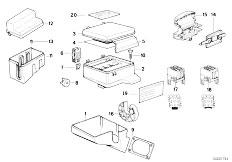 Original Parts for E32 750i M70 Sedan / Vehicle Electrical