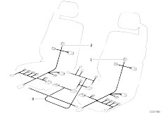 Original Parts for E31 850Ci M70 Coupe / Vehicle