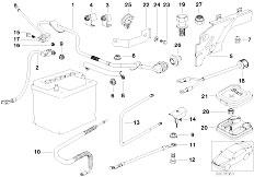 Original Parts for E39 540i M62 Touring / Engine