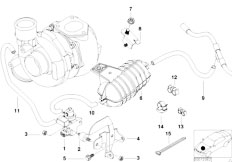 Original Parts for E53 X5 3.0d M57 SAV / Engine/ Belt