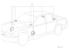 Original Parts for E32 750iL M70 Sedan / Audio Navigation