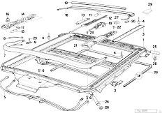 Pièces detachées pour les E31 850Ci M70 Coupe / Sliding