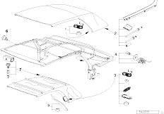 Original Parts for E36 323i M52 Cabrio / Sliding Roof