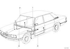 Original Parts for E12 518i M10 Sedan / Vehicle Electrical