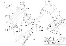 Original Parts for E53 X5 3.0d M57 SAV / Steering/ Power