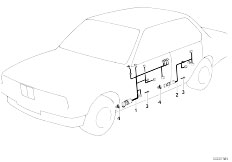 Original Parts for E34 518i M40 Touring / Vehicle