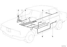 Original Parts for E30 M3 S14 2 doors / Vehicle Electrical