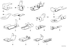 Original Parts for E30 318i M10 4 doors / Vehicle