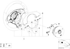 Original Parts for E46 320Ci M54 Coupe / Steering/ Steer