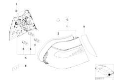 Original Parts for E46 M3 S54 Coupe / Lighting/ Indiv