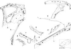 Original Parts for E46 316ti N42 Compact / Bodywork