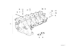 Original Parts for E36 318tds M41 Touring / Engine/ Timing