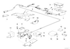 Original Parts for E34 525tds M51 Touring / Audio