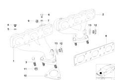 Original Parts for E36 320i M50 Cabrio / Engine/ Cooling