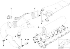Original Parts for E39 530d M57 Touring / Fuel Preparation