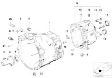 Original Parts for E46 330Ci M54 Coupe / Manual