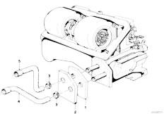 Original Parts for E21 318i M10 Sedan / Heater And Air