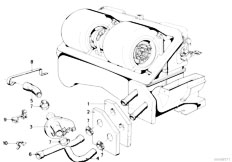 Original Parts for E21 318i M10 Sedan / Heater And Air