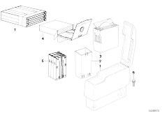 Original Parts for E34 525tds M51 Touring / Audio