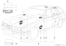 Original Parts for E34 518i M43 Touring / Audio Navigation