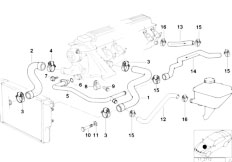 Original Parts for E39 525tds M51 Touring / Engine/ Short