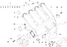 Original Parts for E46 320d M47N Touring / Engine/ Cooling