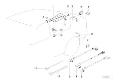 Original Parts for E36 320i M50 Sedan / Audio Navigation