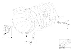 Original Parts for E83 X3 3.0d M57N SAV / Automatic