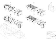 Original Parts for E46 M3 S54 Coupe / Vehicle Trim/ M