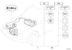 Original Parts for E34 525tds M51 Touring / Heater And Air