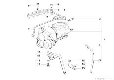 Original Parts for E39 525tds M51 Touring / Engine/ Short