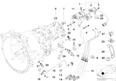 Original Parts for E36 M3 3.2 S50 Sedan / Manual
