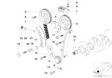 Original Parts for Z3 Z3 1.9 M44 Roadster / Engine