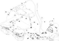Original Parts for E46 316i 1.9 M43 Sedan / Fuel Supply
