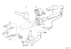 Original Parts for E30 316i M40 4 doors / Equipment Parts