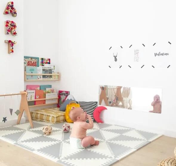 Play Room de Valentina basada en principios Montessori