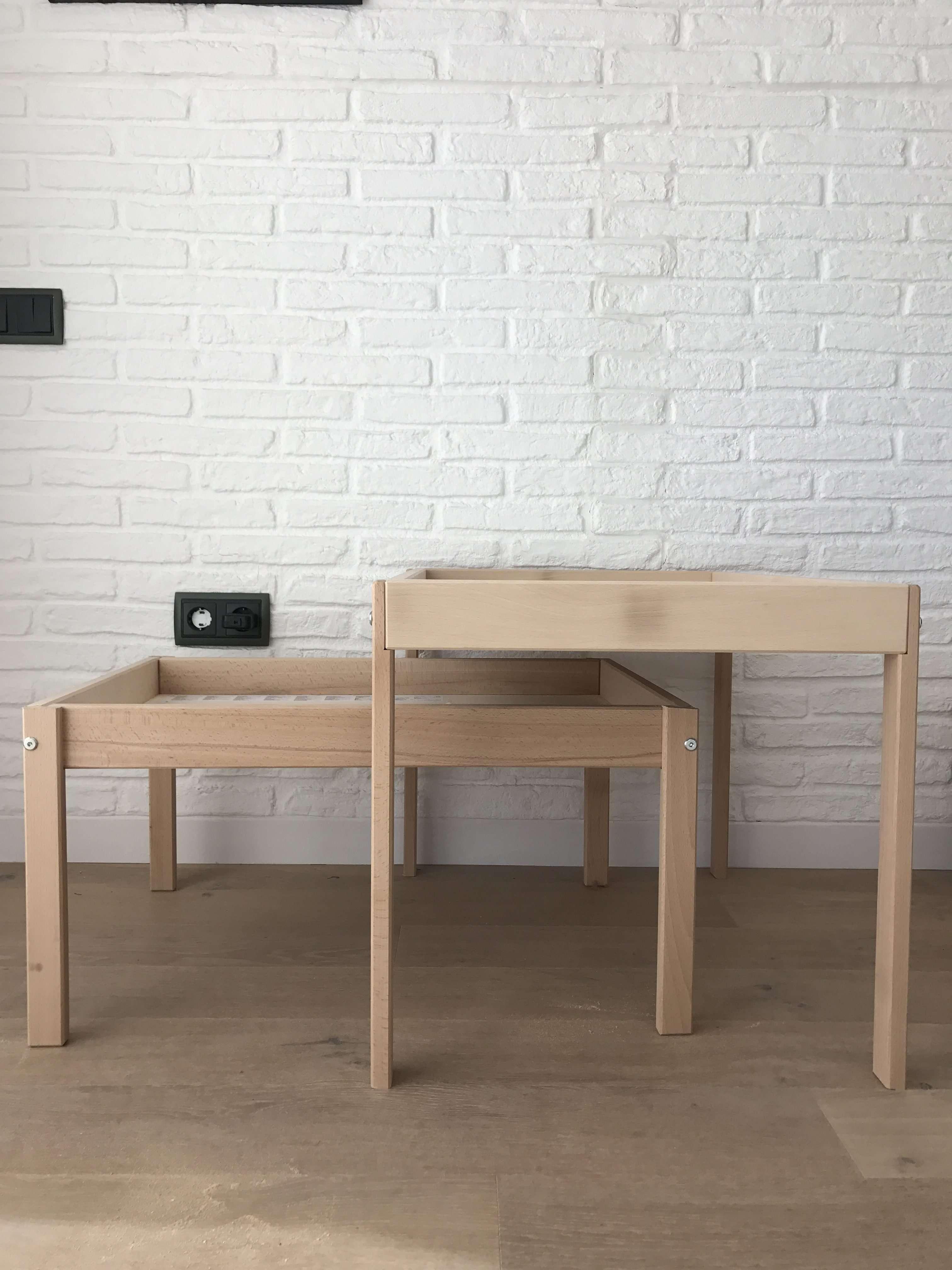 DIY mesa de luz  estoreta  Family Craft  Deco