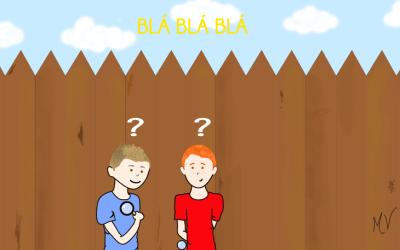 O mistério atrás da cerca