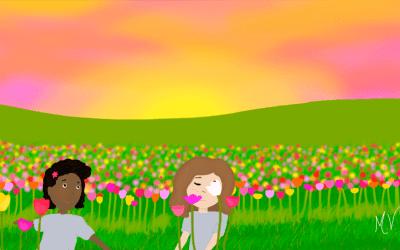 É Primavera!